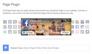 Das neue Facebook Page Plugin
